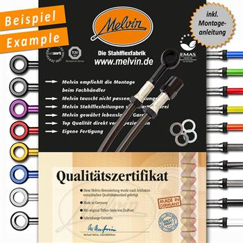Malaguti F 12 50 Phantom 94-96 - Bremsleitungs-Kit vorne