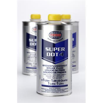 Bremsflüssigkeit 1 Ltr. Super DOT4