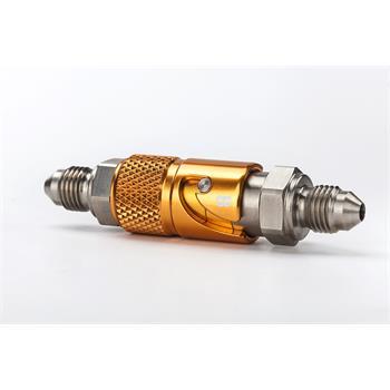 Quick release coupling M10x1.0 Titanium Gold